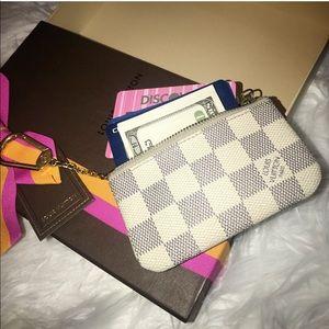 Louis Vuitton Key Pouch Credit Card/Coin Pouch